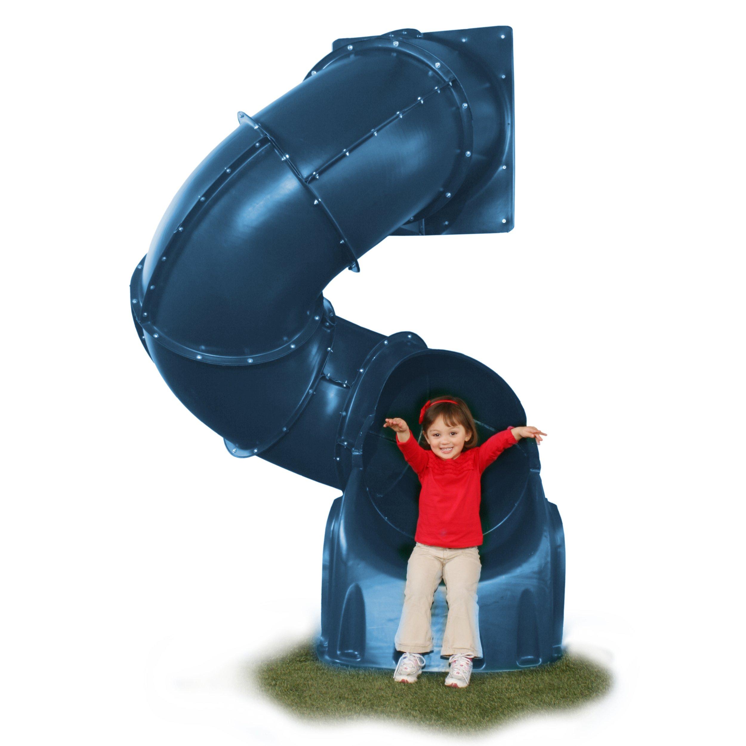 5 Ft Turbo Tube Slide, Blue by Swing-N-Slide (Image #1)