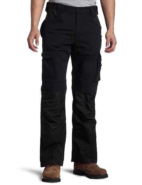Caterpillar para Hombre Pantalones Cargo con cinturón Bolsillos - Negro -: Amazon.es: Ropa y accesorios
