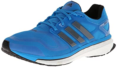 promo code 28310 daf6f adidas Performance Men s Energy Boost 2 M Cushioned Running Shoe, Solar  Blue Black,