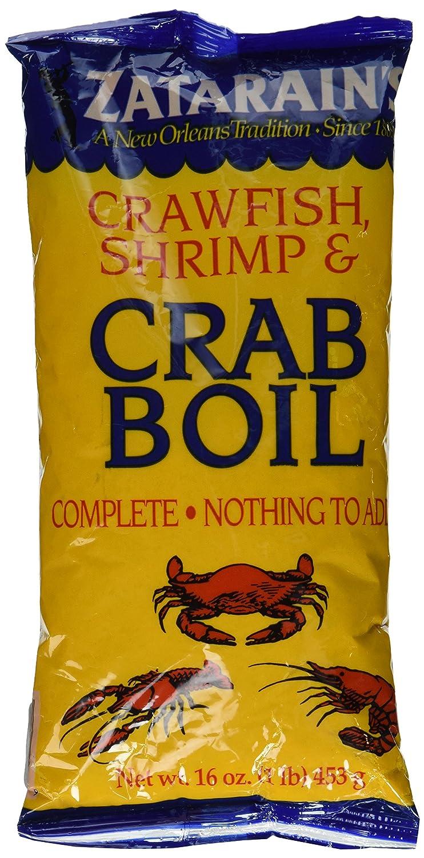 Amazon Com Zatarain S Crawfish Shrimp Crab Boil 16 Oz