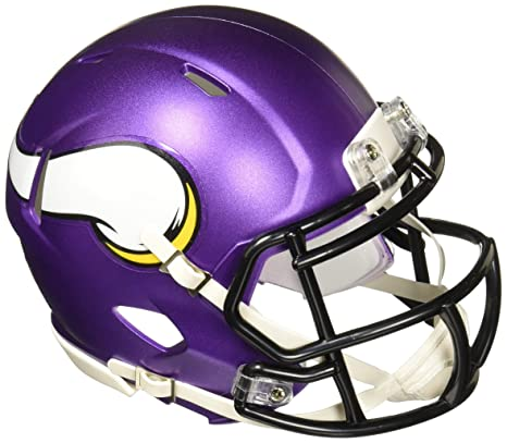 Image Unavailable. Image not available for. Color  Riddell Minnesota  Vikings NFL Replica Speed Mini Football Helmet a1ec800a0