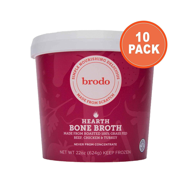 Brodo Hearth Bone Broth, 10 Count