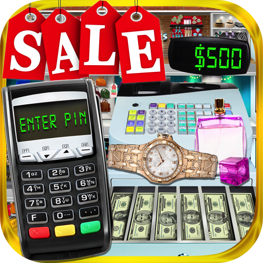 Credit Card, Cash Register & Kids Beverly Hills Shopping Mall Simulator - Beverly Hill Shopping