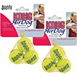 KONG Air Squeaker Extra Small Tennis Ball - 6 Balls in Total