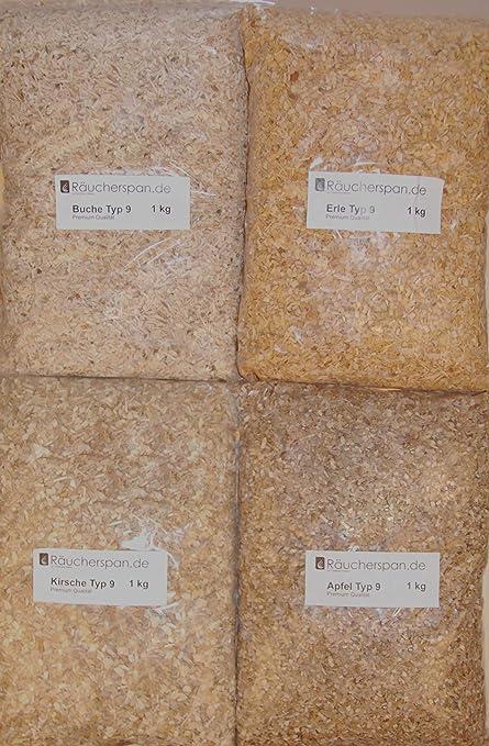 R/äuchersp/äne R/äuchermehl Buche Typ 3 1kg