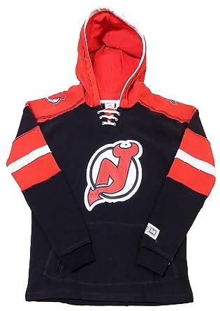 brand new 9a2ba 2975b Amazon.com: New Jersey Devils Black Youth CCM Vintage ...