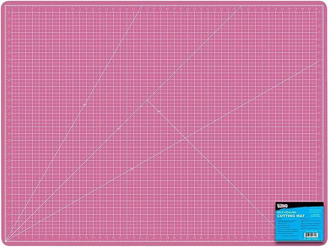 "US Art Supply 36"" x 48"" Large Self-Healing Cutting Mat For Fabrics"