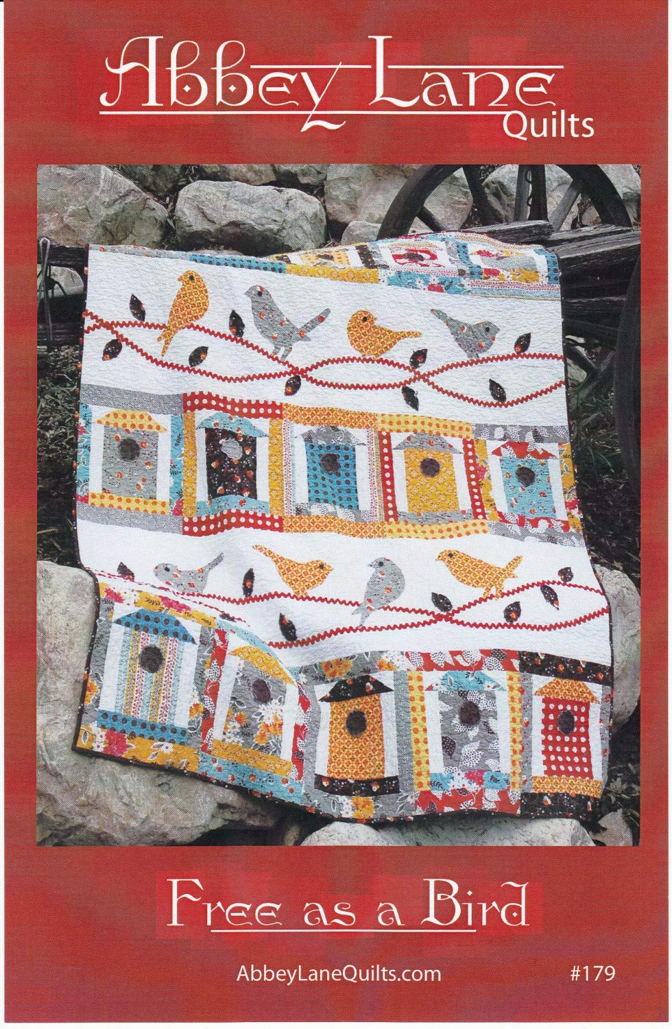 Amazon Free As A Bird Quilt Pattern By Abbey Lane Quilts 179