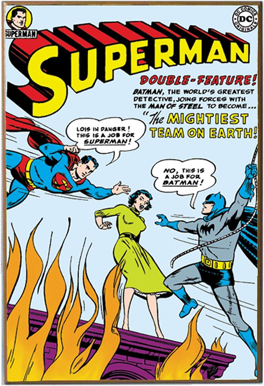 Silver Buffalo SP6636 DC Comics Superman & Batman Art