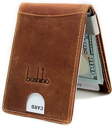Soft Leather Men Quality Luxury Wallet Money Clip Bag Buckle Credit Card Holder