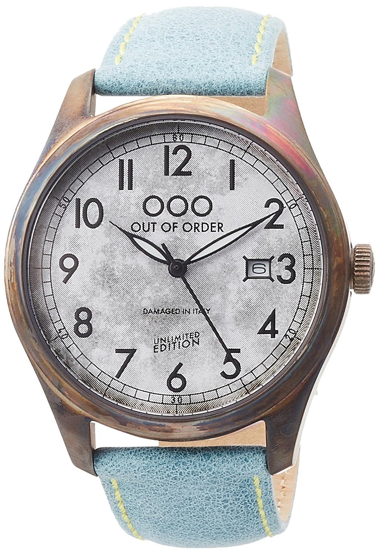 [アウトオブオーダー]Out Of Order 腕時計 SCARABEO 40mm イタリア製 001-9.AZ 【正規輸入品】 B0725PBV5M