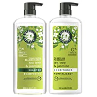 Herbal Essences, Clarifying Shampoo & Purifying Conditioner, Tea Tree & Jasmine,...
