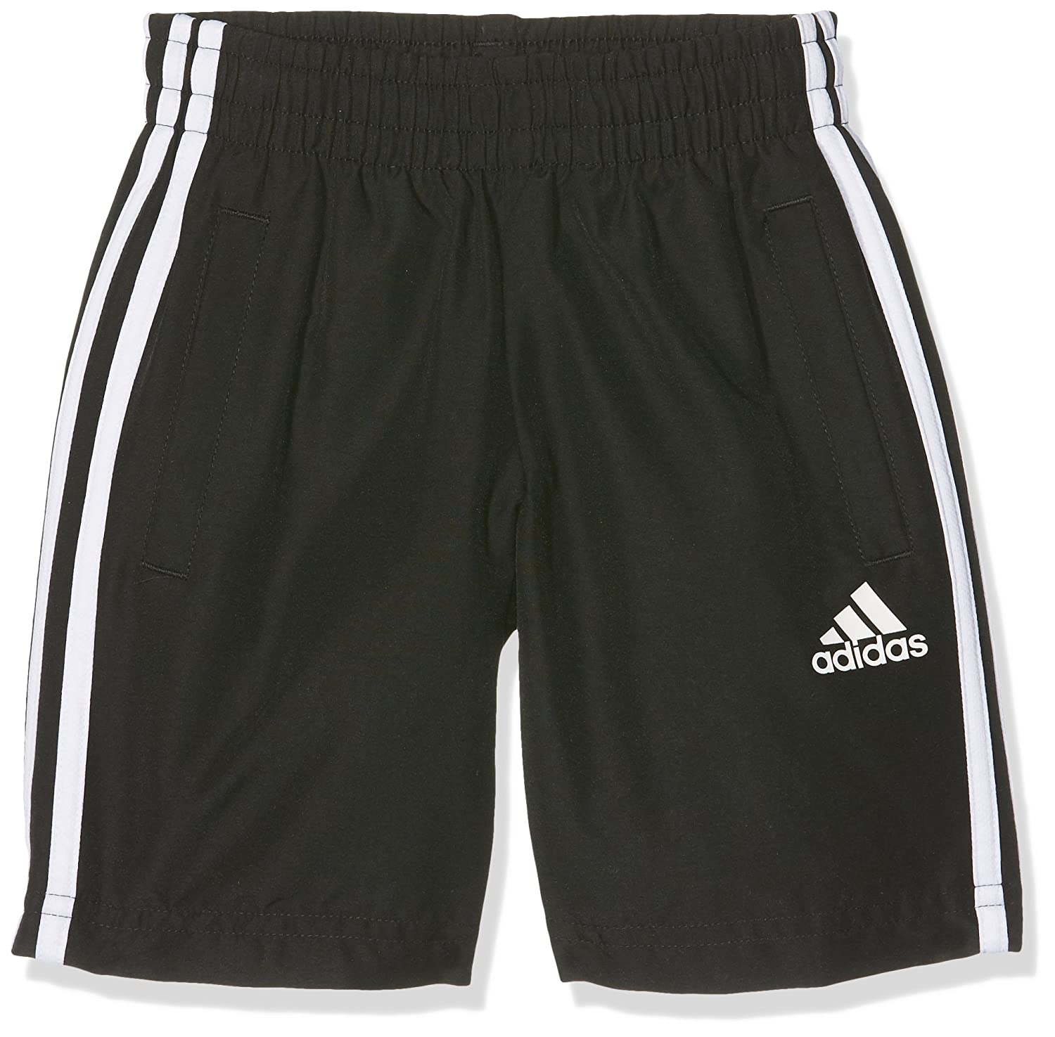 adidas Boys' Essentials 3 Stripes Woven Shorts BQ2828