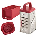 Rachael Ray 47649 Box Stainless Steel Grater, 4