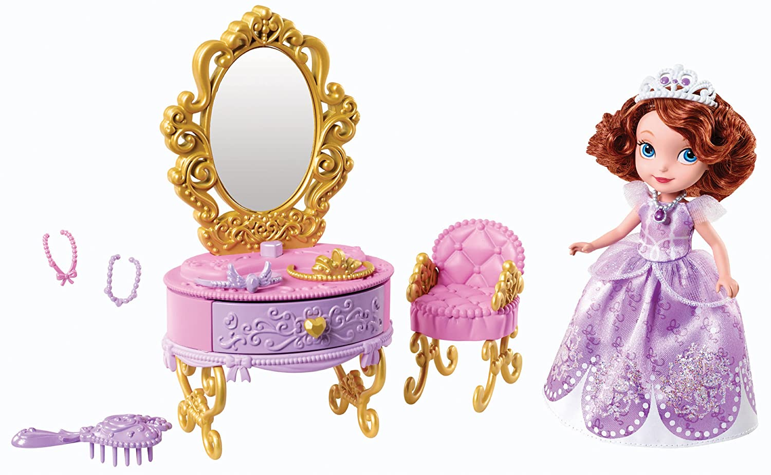Disney Sofia The First Ready for The Ball Royal Vanity Mattel Y6790