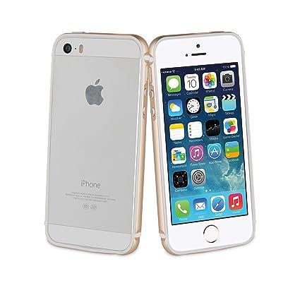 af987a789ce Muvit MUBMC0159 - Funda Trasera para Apple iPhone SE/5S/5 (Aluminio ...