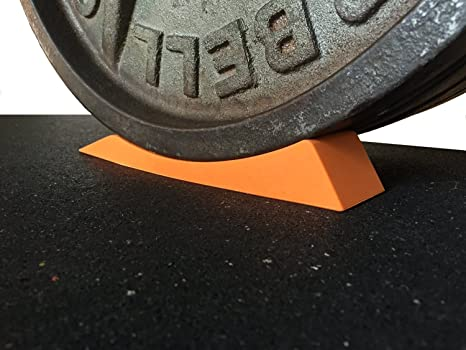 The Dead Wedge - Deadlift Jack Alternative for Your Gym Bag - Raises loaded barbell &