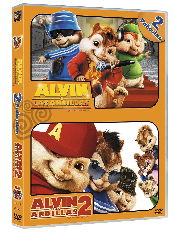 Amazon.com: Pack Alvin Y Las Ardillas + Alvin Y Las Ardillas 2 (Import Movie) (European Format - Zone 2) (2010) Varios;: Movies & TV