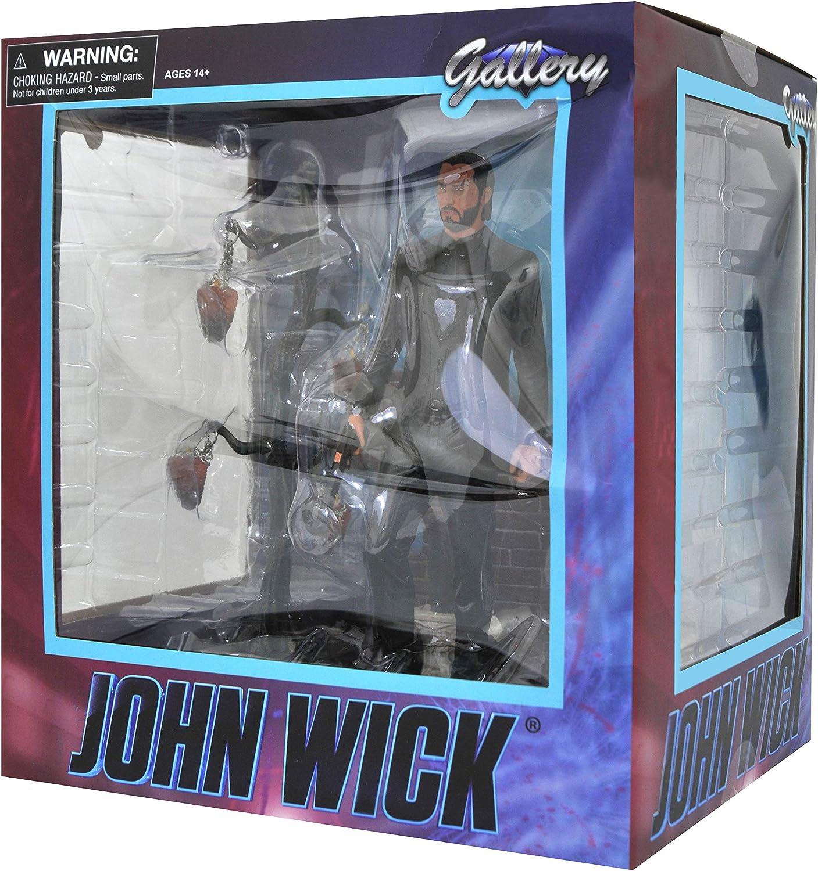 John WICK PVC Galleria Figura Diamond Select