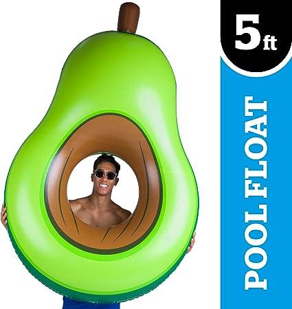 Amazon.com: BigMouth Inc Flotador de piscina de aguacate ...