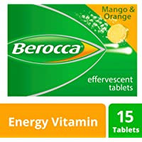 Berocca Energy Vitamin, Mango & Orange - 15 Effervescent Tablets