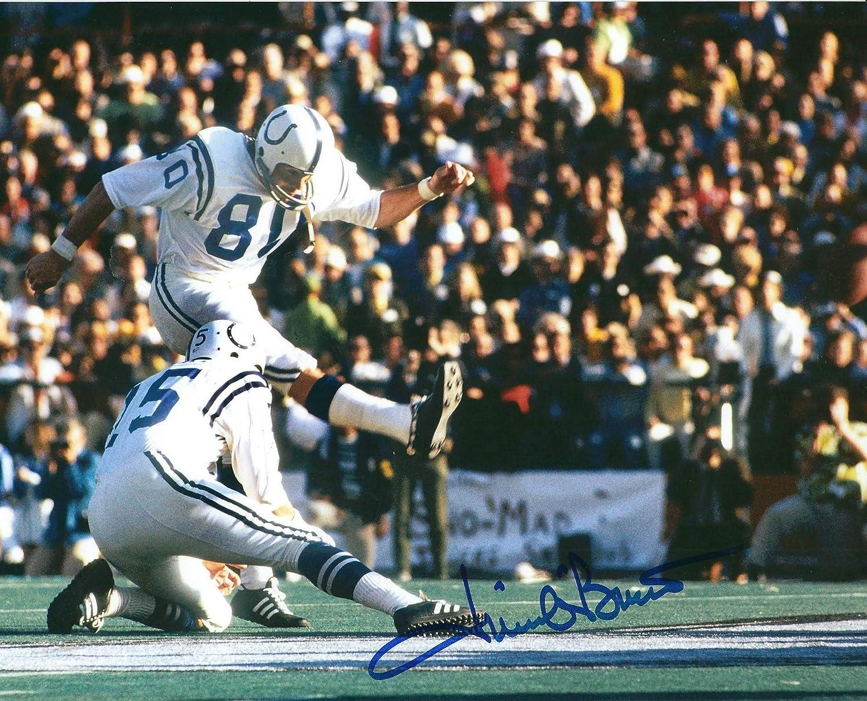 Autographed Jim OBrien 8x10 Baltimore Colts Photo