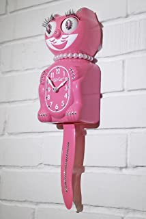 product image for Kit Cat Klock Jeweled Limited Edition Lady (Strawberry Ice)