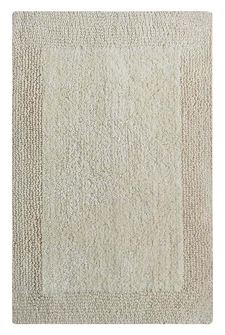 Chardin Home   100% Pure Cotton   Splendor Reversible Bath Rug, 21u0027u0027