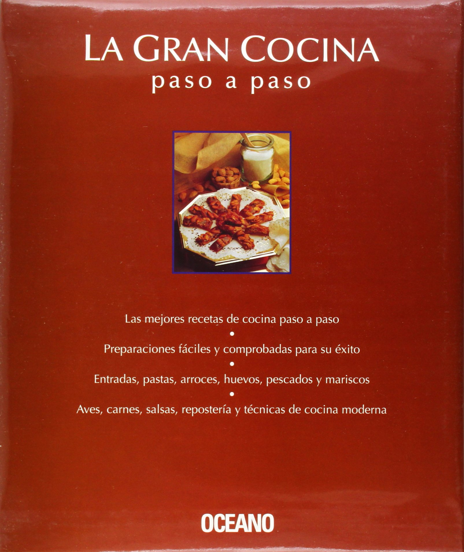 LA Gran Cocina/Great Cooking: Paso a Paso/Step by Step (Spanish Edition): Editorial Oceano: 9788449422140: Amazon.com: Books