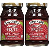 Smucker's Simply Fruit Raspberry Spread - 10 oz - 2 pk