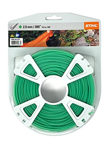 Amazon.com: Stihl Trimmer línea de corte Premium 2,0 mm ...