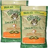 Feline Greenies SMARTBITES Hairball Control Chicken (4.6 oz)