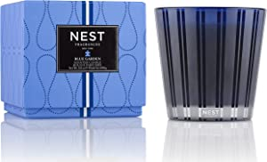 NEST Fragrances 3 Wick Candle- Blue Garden , 21.2 oz