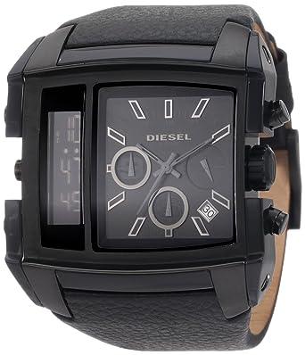 8354484ab Amazon.com: Diesel Men's DZ7192 SBA Blackout Watch: Diesel: Watches