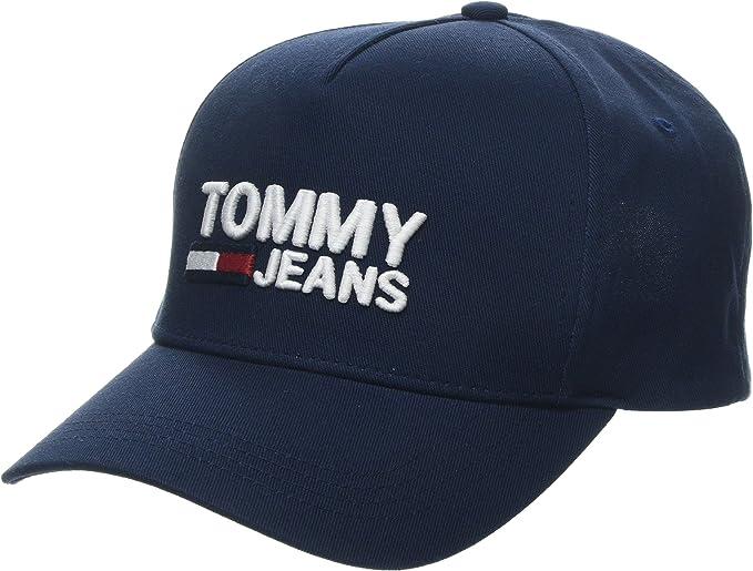 Tommy Hilfiger Tjw Logo Cap Gorra de béisbol, Azul, Talla única ...