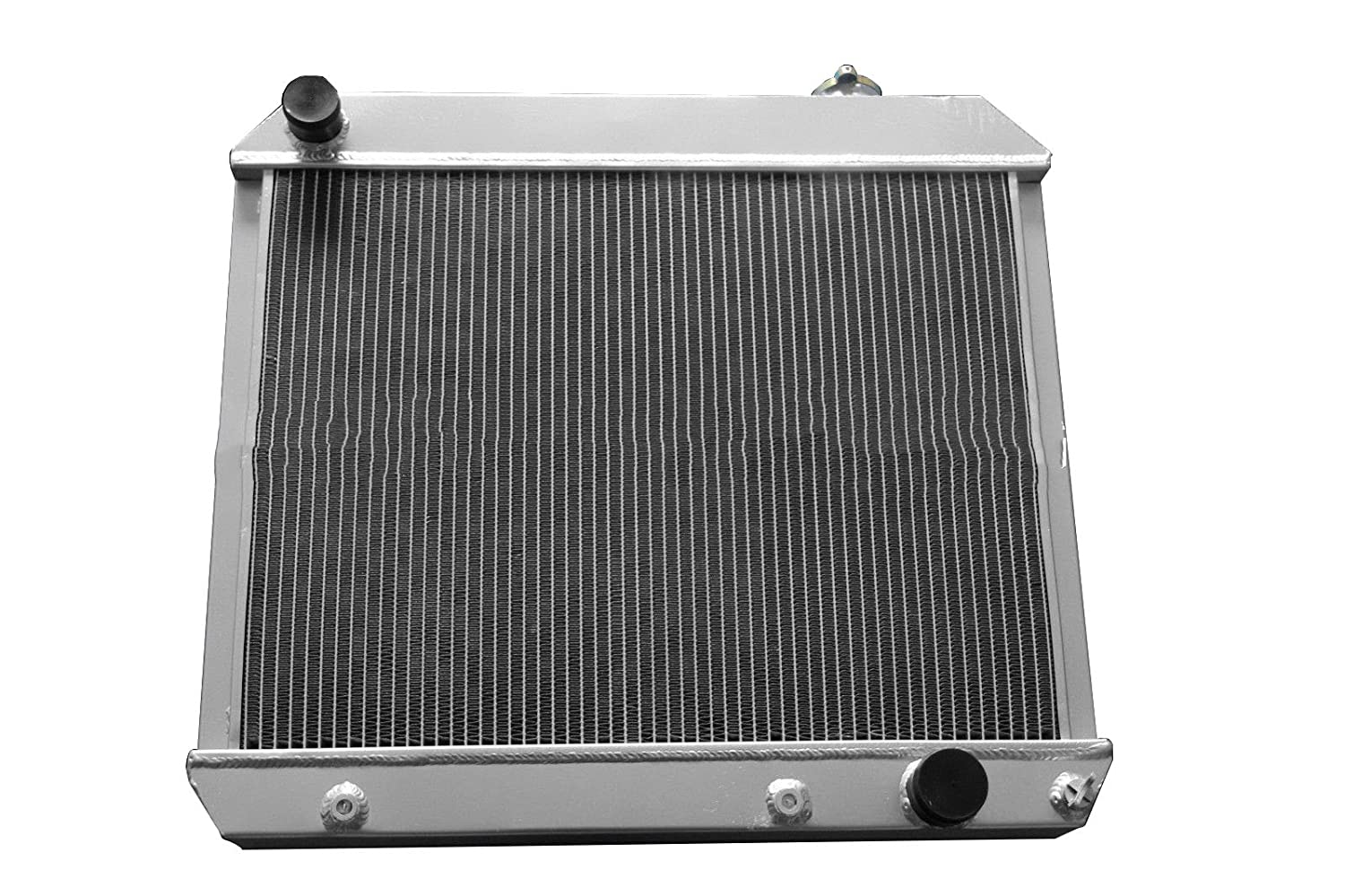ZC284 New 3 Rows All Aluminum Radiator Fit 61-66 Chevy C10 Pickup Truck C20 C30 K10 K20
