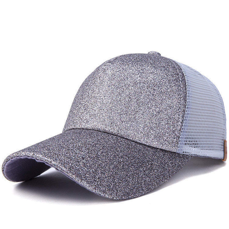 Eric Carl 2019 Fashion Ponytail Baseball Cap Women Summer Cap with Mesh Casquette Femme Gorra Dad Hats Womens Cap
