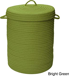 product image for Colonial Mills Savvy Textured Portable Lidded Storage Hamper Green