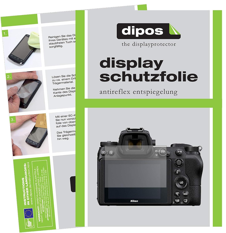2x Protector Pantalla para Nikon D5000 Pelicula Protectora Transparente