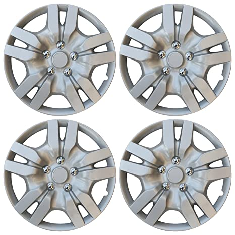 4 Piece Set of Aftermarket Wheel Cover 16