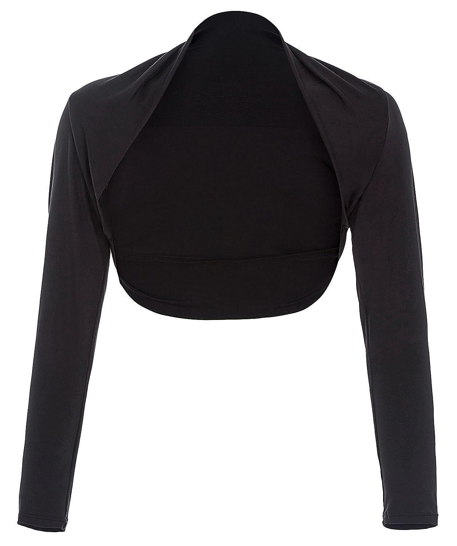 Belle Poque Womens Vintage Bolero Shrug Open Front Long Sleeve Crop Tops BP000114JS