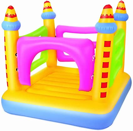 Amazon.com: Up in & over Castillo inflable Bouncer: Toys & Games