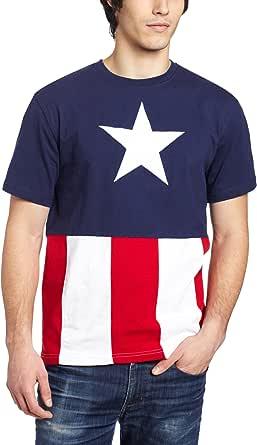 Captain America Men's T-Shirt Caps