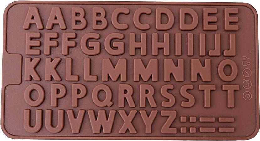 Amazon.com: Bandejas de silicona para moldes de chocolate y ...