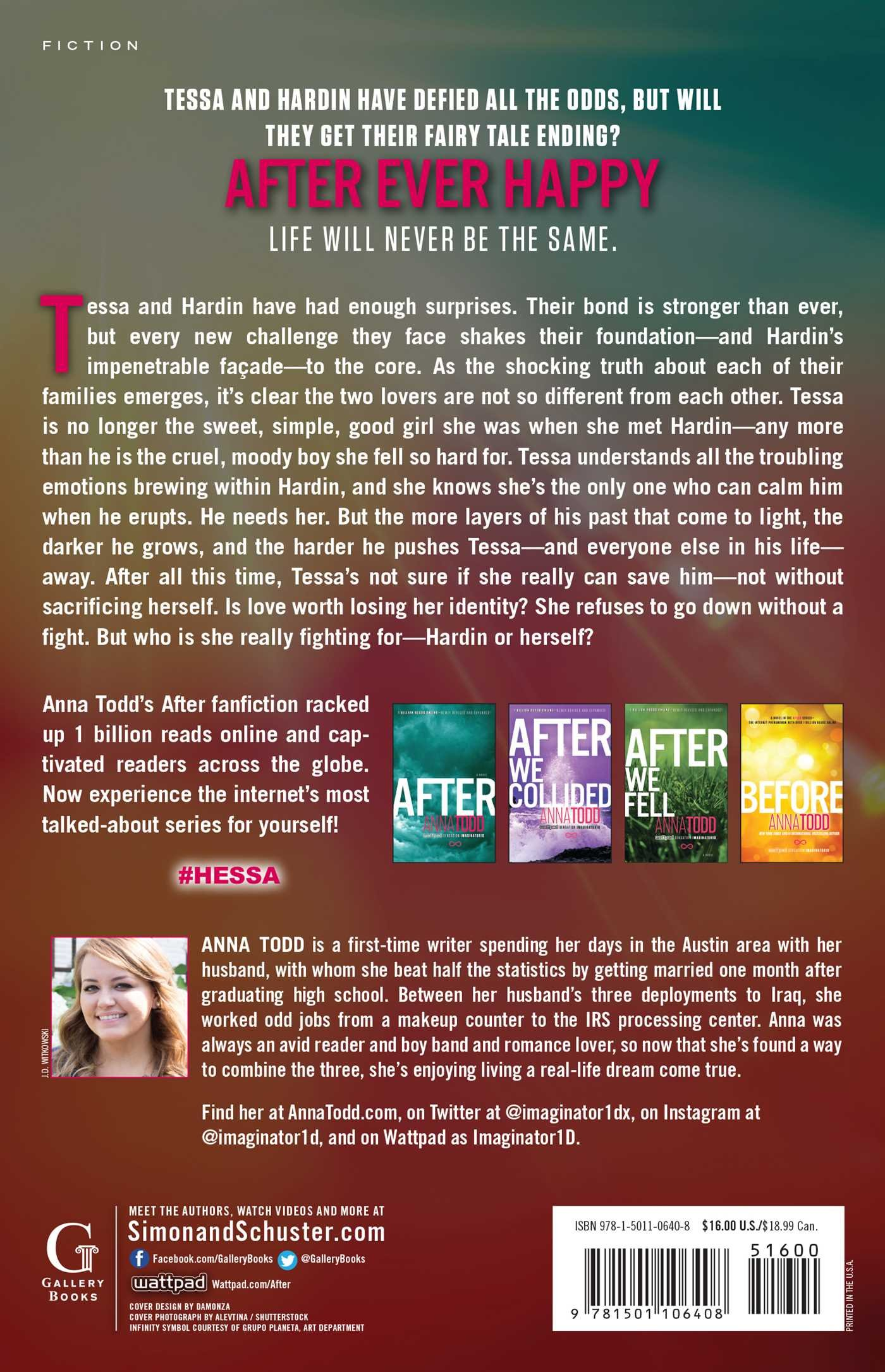 After Ever Happy (The After Series, Band 4): Amazon.de: Anna Todd:  Fremdsprachige Bücher