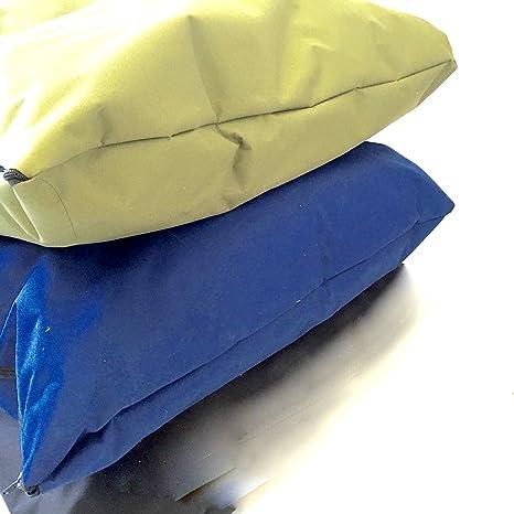 doggyzzzuk Cojín impermeable para cama de perro con funda resistente extraíble y resistente