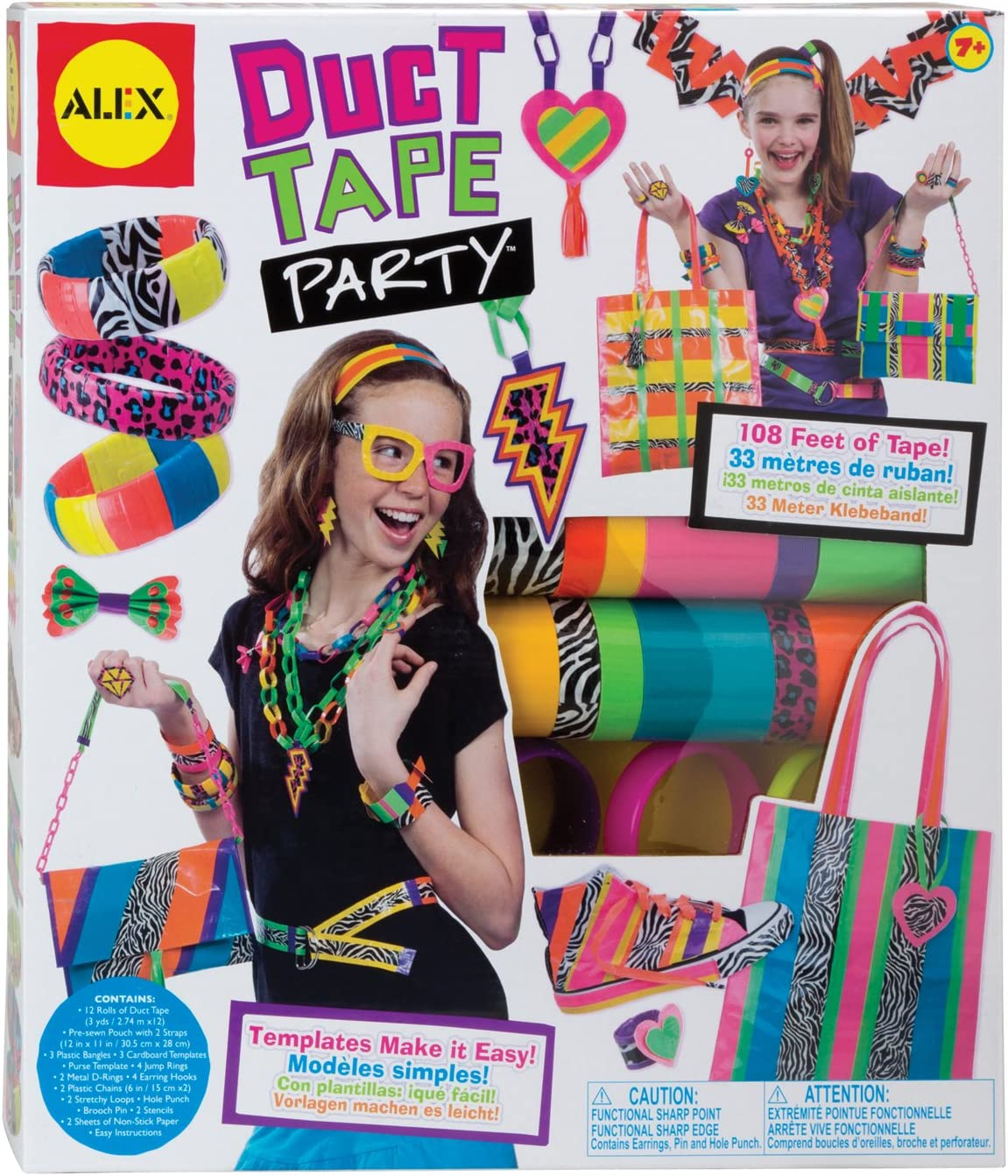 ALEX Toys DIY Wear Duct Tape Party: Toys & Games