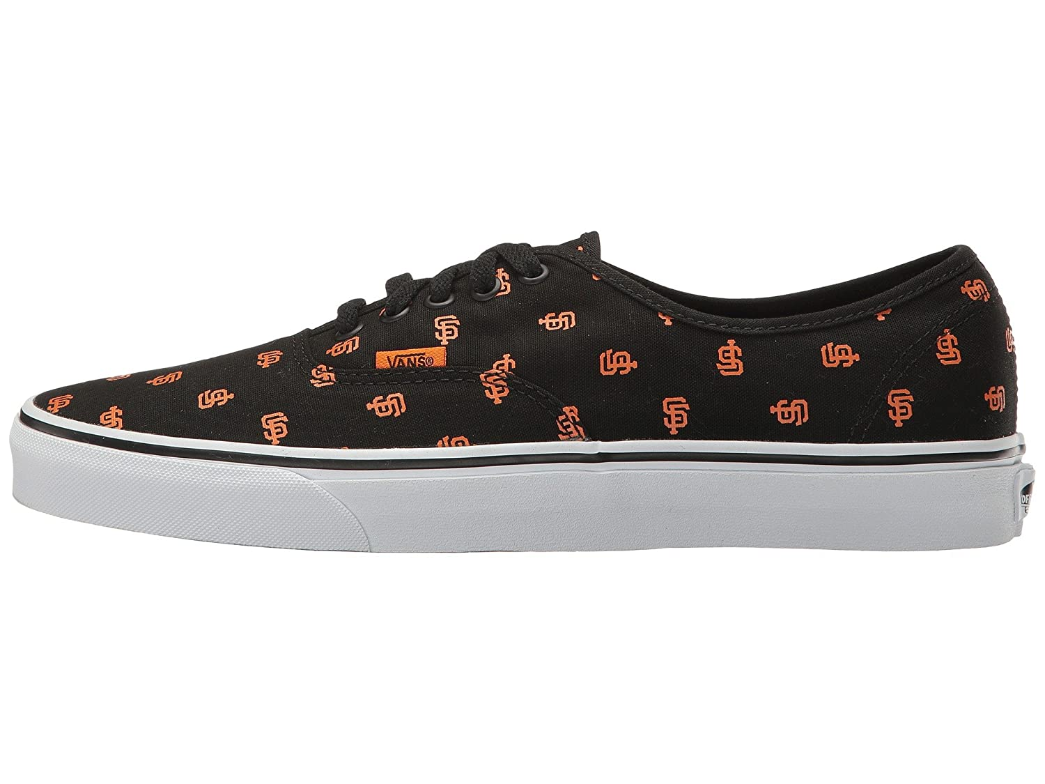 Vans Authentic B01I42T5UG 7 M US Women / 5.5 M US Men|San Francisco Giants/Black