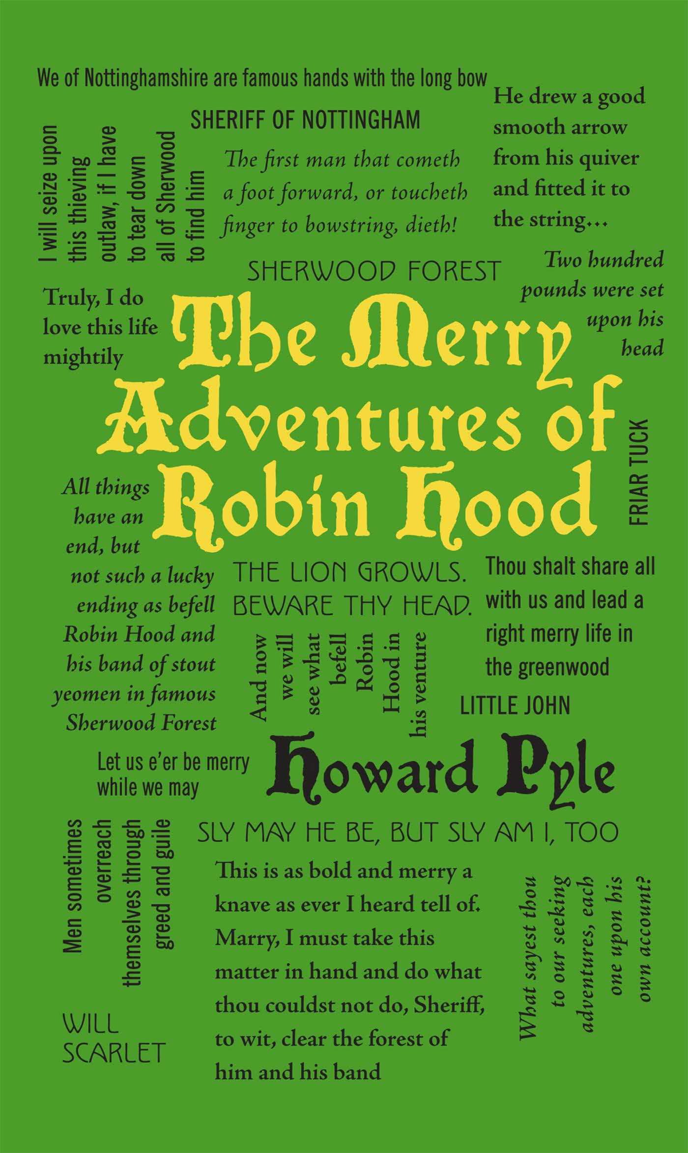 The Merry Adventures of Robin Hood (Word Cloud Classics) ebook