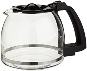 Capresso 4464.01 10-Cup Glass Carafe with Lid for CoffeeTeam GS Coffee Maker